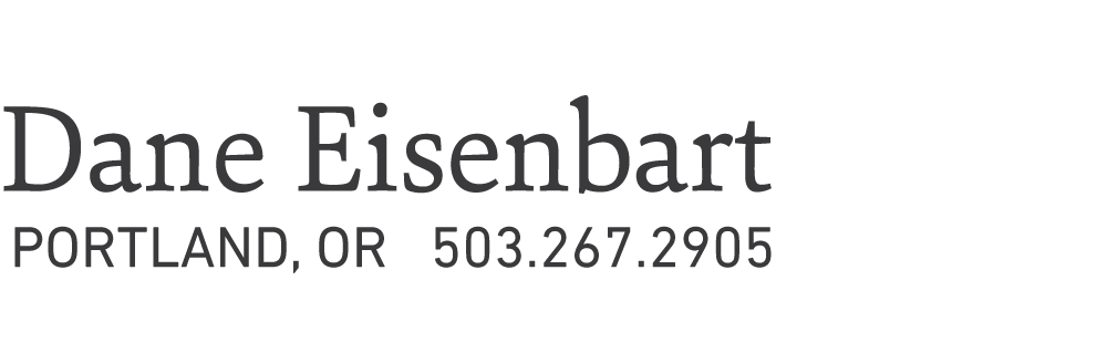 Dane Eisenbart - Fine Artist